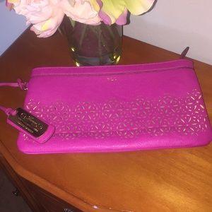 Ralph Lauren pink clutch